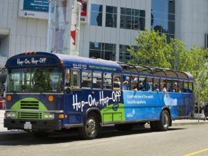 Hop-on, Hop-Off Accelerates with Innovative Ticket Technology